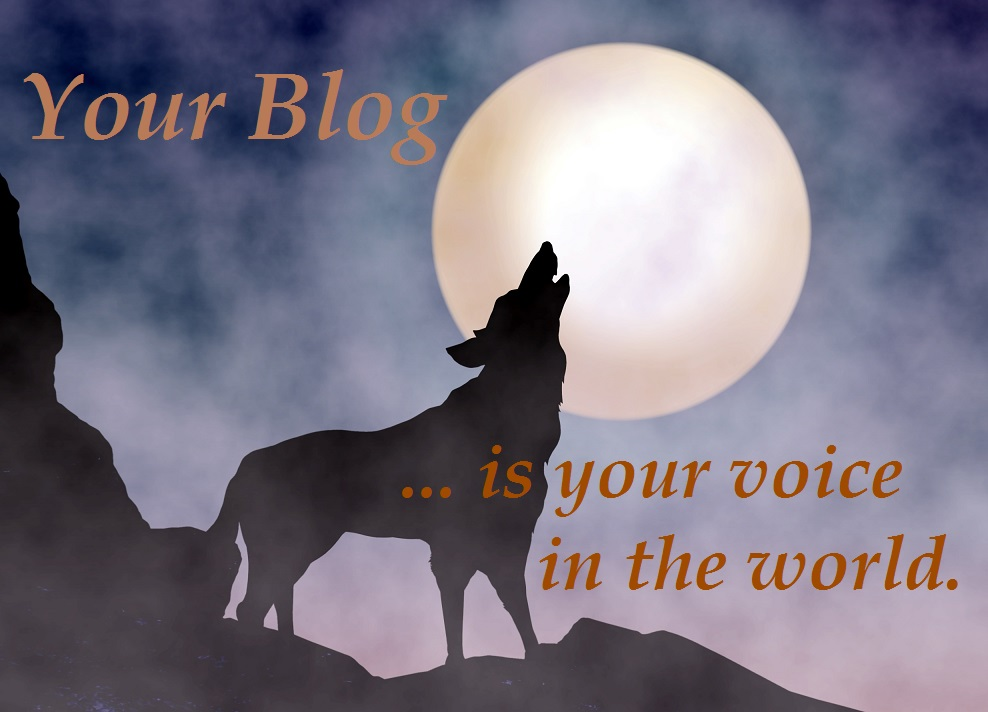 Wolf Howling at Moonlight